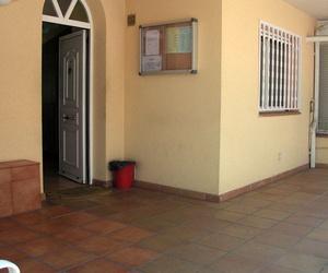 Puerta de entrada a la guardería