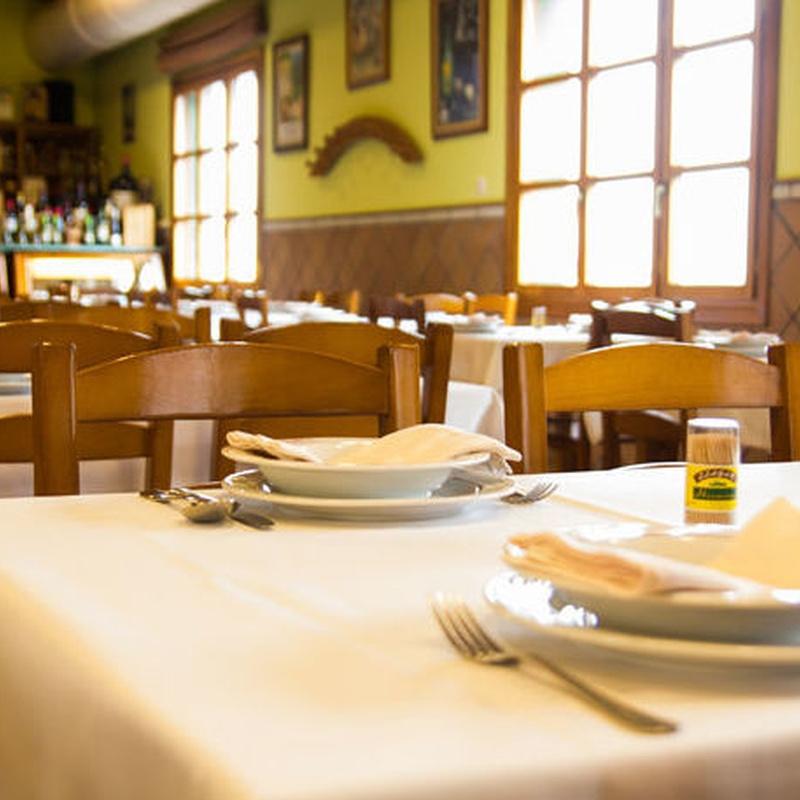 Menú nº 2: Carta de Restaurante Sidrería Llagar Herminio