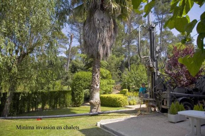 Agujeros en chales mínimamente invasivos: Servicios de Perforacions Ordal-Jaume Vendrell i Fill, S.L.