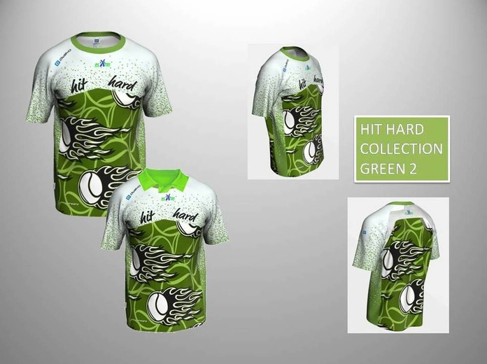HIT HARD COLLECTION GREEN 2:  de ES POR TRI