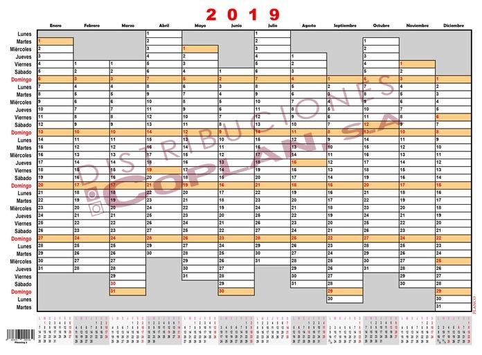 Planning anual: Catálogo de Distribuciones Coplan, S. A.