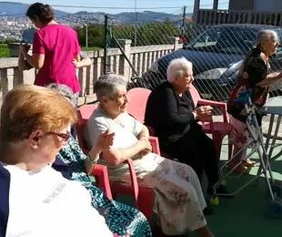 Santa Ana en Centro de Atención a la Tercera Edad La Palmera