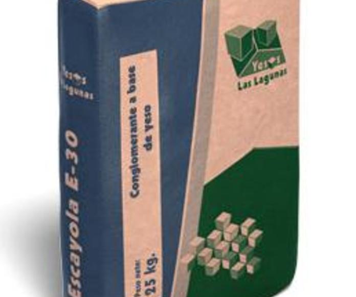 Escayola E-30: Catálogo de Materiales de Construcción J. B.