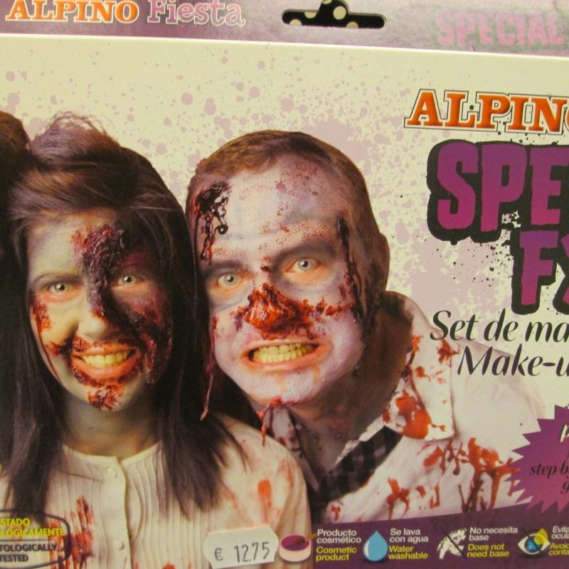 Set de maquillaje ALPINO EFECTOS ESPECIALES