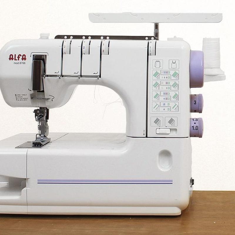Alfa Recubridora 8706: Productos de Maquinas de Coser - Servicio técnico y repuestos