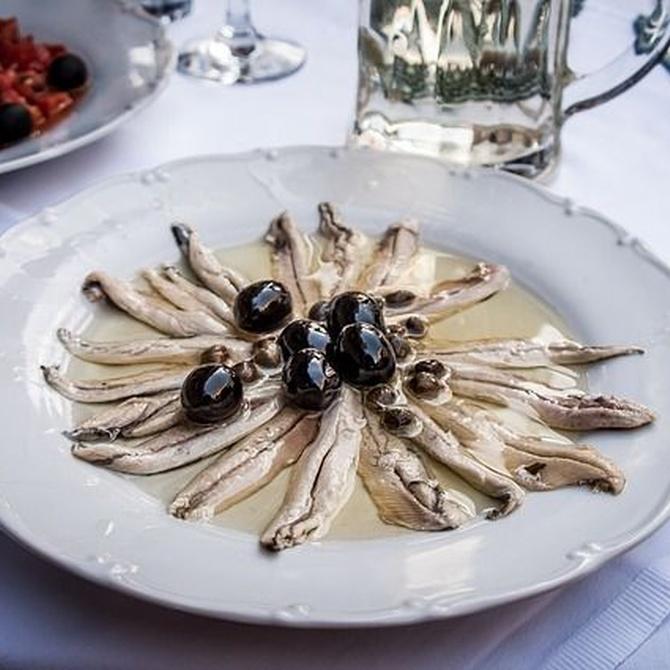 Las anchoas, una delicia del Cantábrico