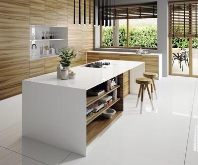 Silestone y blanco, una combinación perfecta y segura