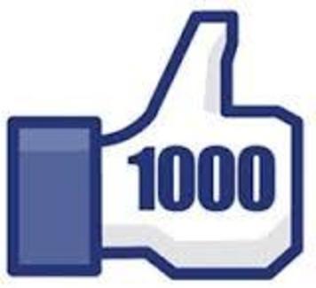 + DE 1000 EN FACEBOOK