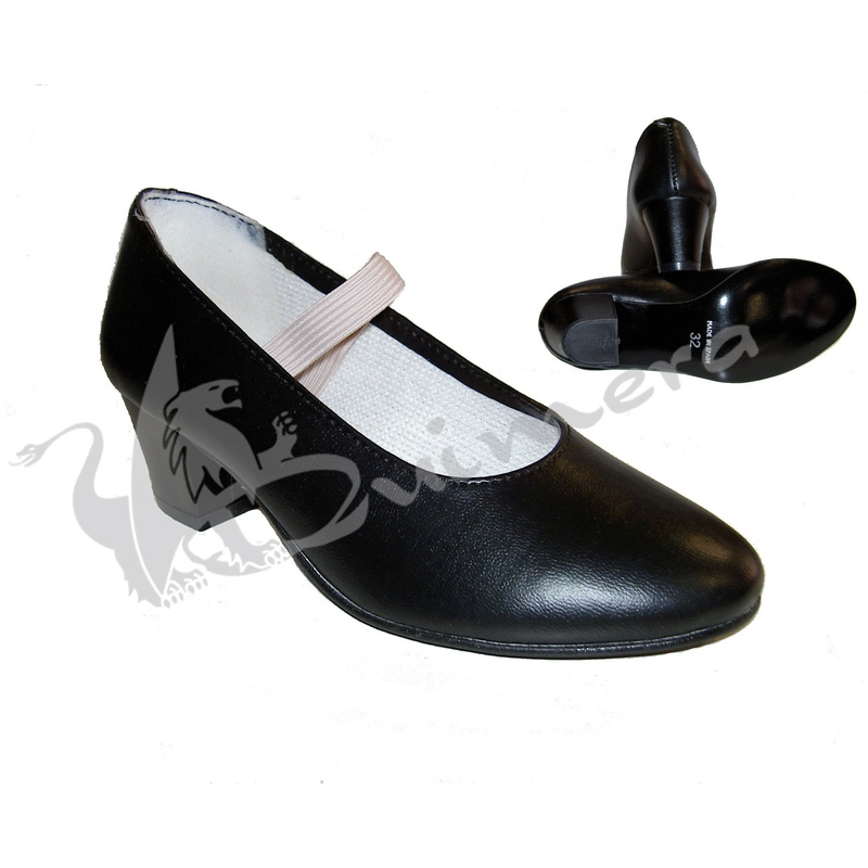 Zapato flamenco sintético