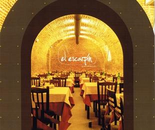 Carta restaurante sidrería El Escarpín