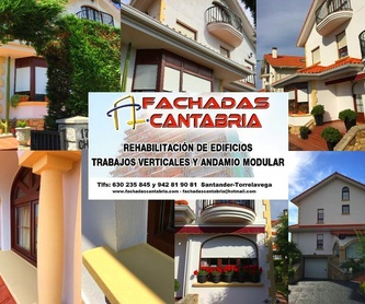 Realizamos derribos controlados con urgencia y reparaciones de fachadas.: Trabajos verticales Santander  de Trabajos Verticales Cantabria
