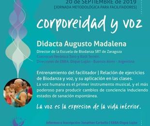 """Taller de Biodanza """"Corporeidad y Voz"""", en Buenos Aires (Argentina)"""