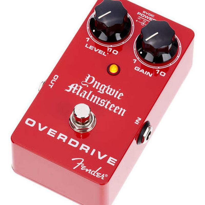 Pedal de efecto overdrive Fender Malmsteen Overdrive