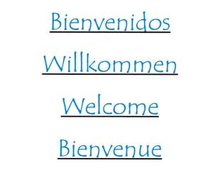 Carta en otros idiomas