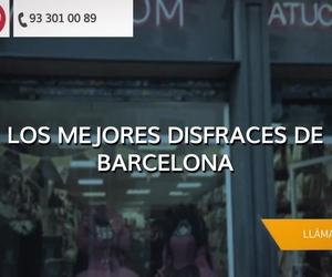 Venta de disfraces en l'Eixample de Barcelona: Atucom Barcelona