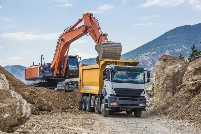 Transporte de áridos y material de construcción: Servicios de Grúas y Transporte El Niño