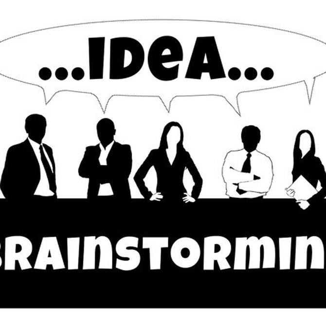 """Las ventajas de la """"brainstorming"""""""