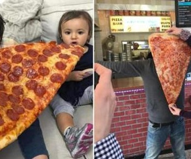 Pizza gigantes