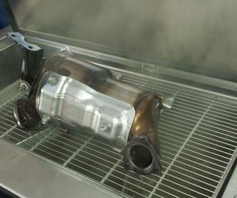 Analizador de gases de escape: Servicios de Taller Manuel Moreno