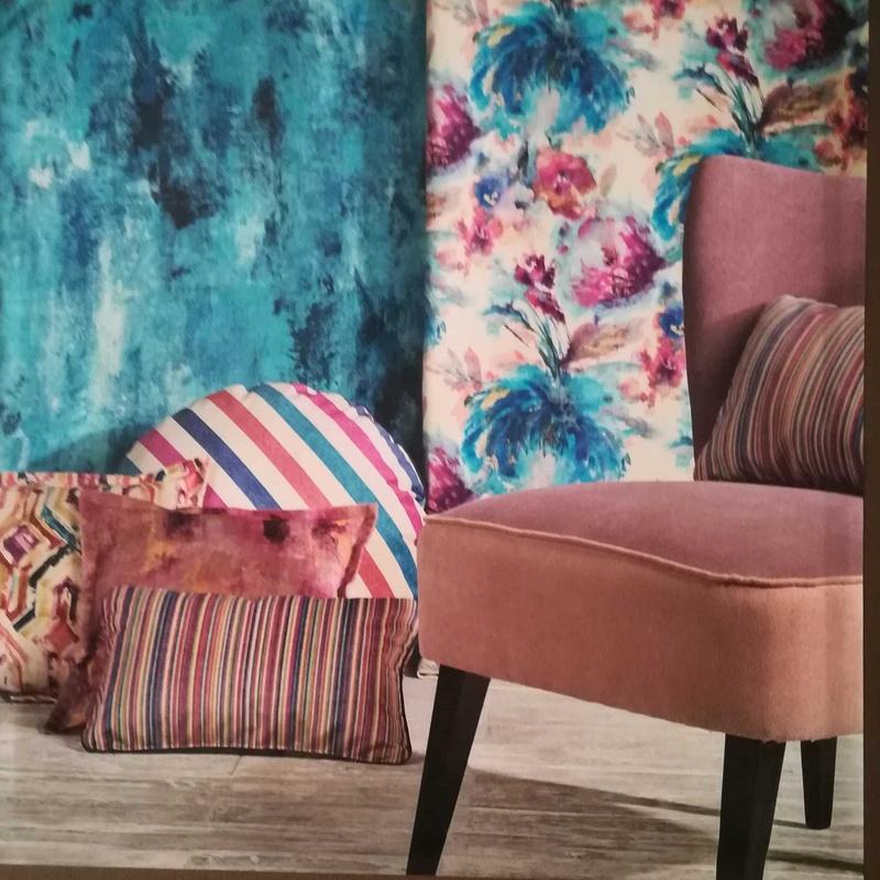 Nuevos diseños colores y  texturas en tejidos