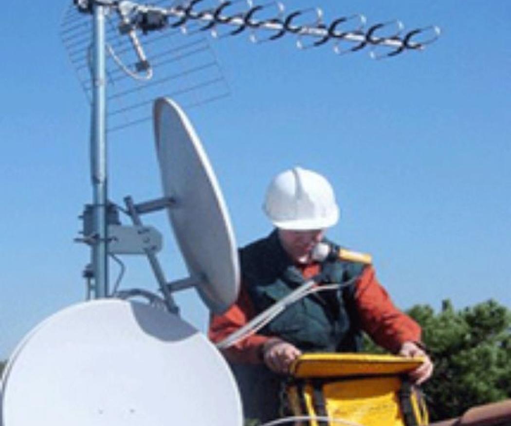 Las antenas colectivas