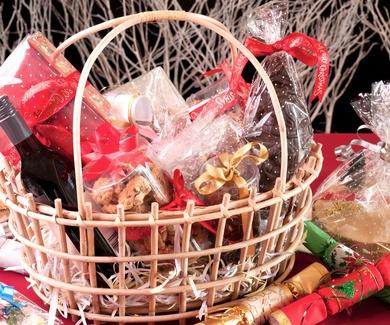 Las cestas de Navidad tributan en el IRPF