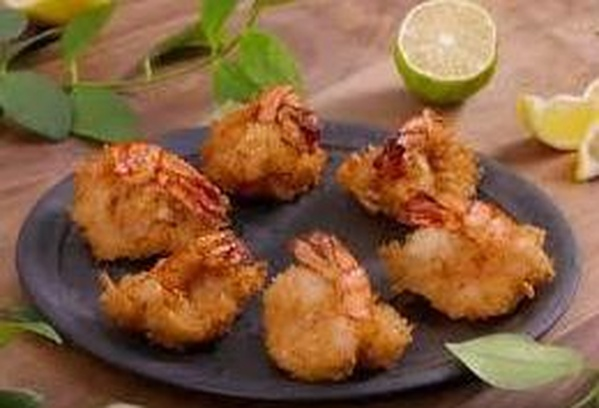 55. Lagostino frito: Carta de Sushi King Restaurante