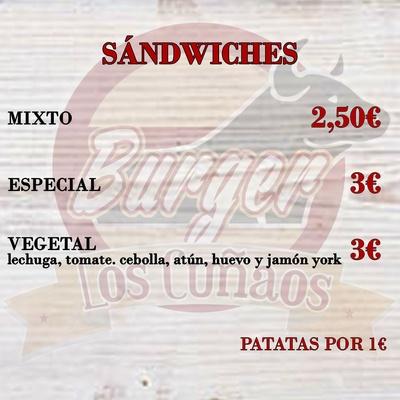 Todos los productos y servicios de Hamburguesería  : Burger Los Cuñaos