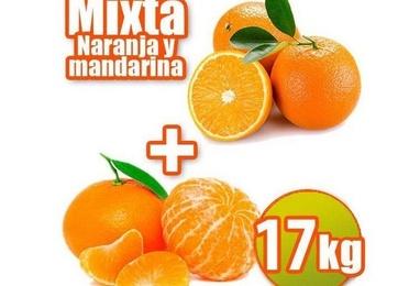 Mixta de mesa y mandarina 17 kg