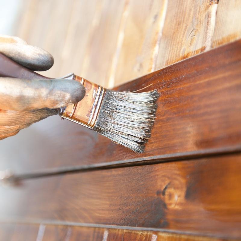 Trabajos sobre madera y carpintería