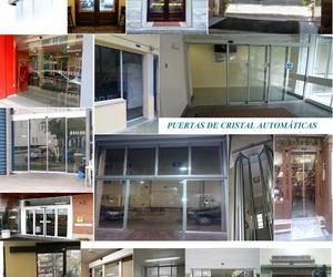 Folleto Comercial de Puertas Automáticas de Cristal