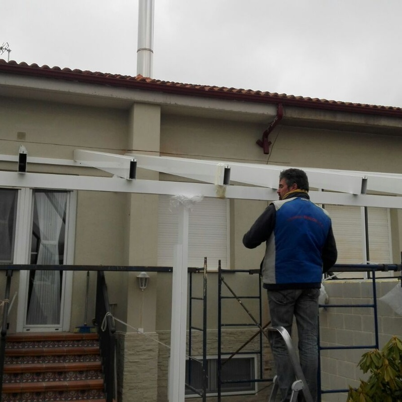 Porches: Productos y servicios de Aluminios Tascón