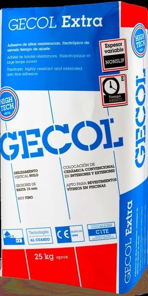 Gecol Extra : Catálogo de Materiales de Construcción J. B.