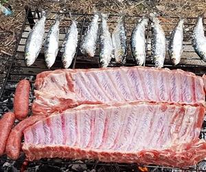 Carnes y pescados a la brasa