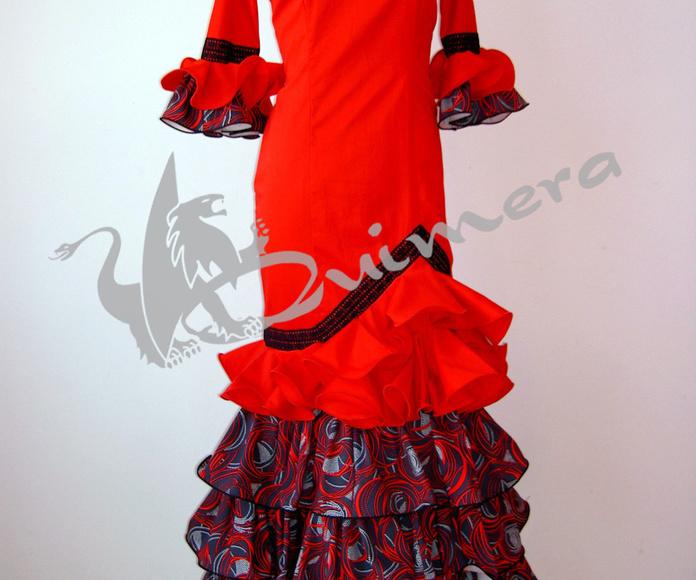 Trajes flamencos mujer: Catálogo de Quimera