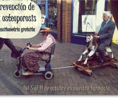 ¡Prevención de la osteoporosis!