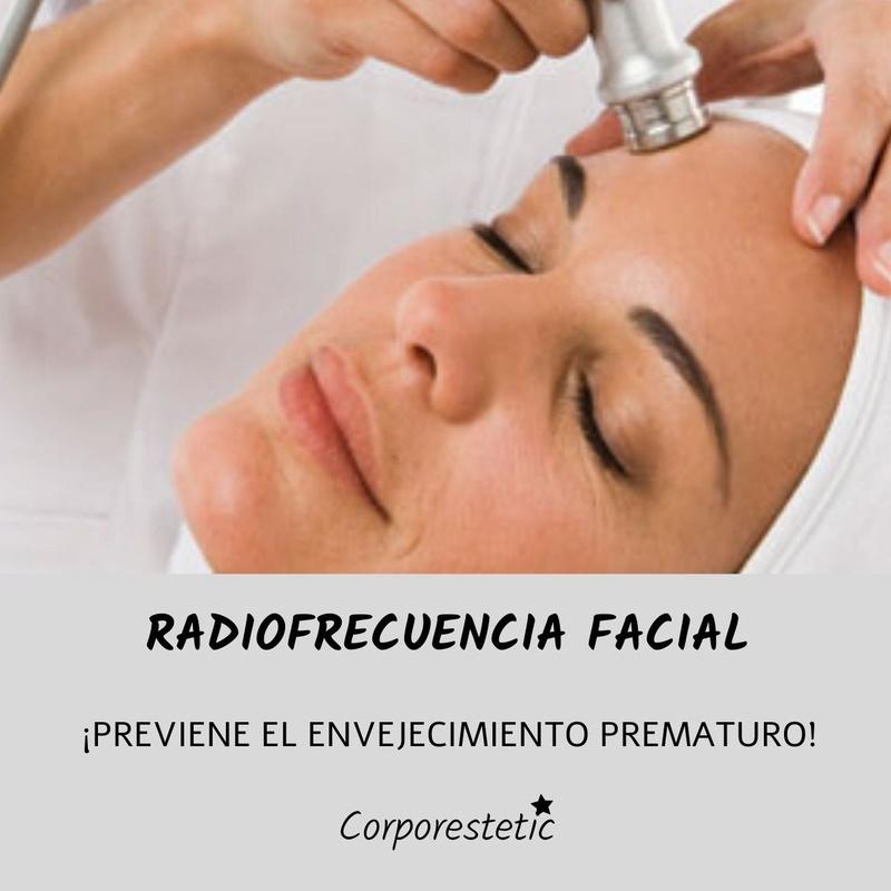 Radiofrecuencia facial: Tratamientos de Corporestetic