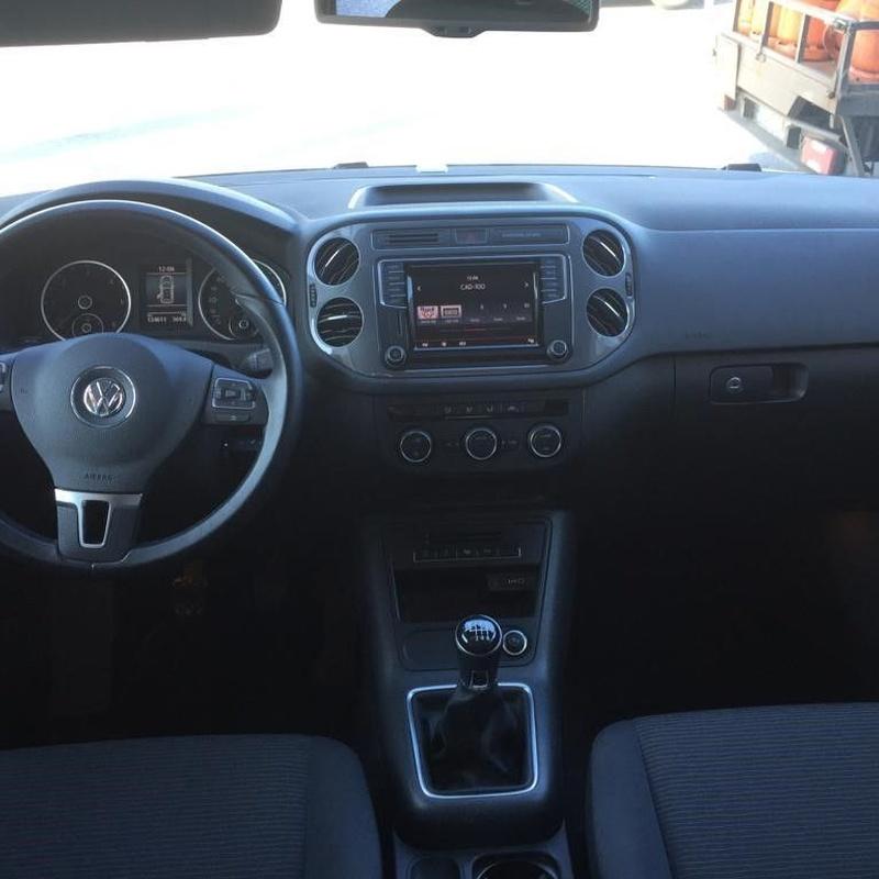Volkswagen Tiguan 2.0TDI 110CV:  de Ocasión A Lagoa
