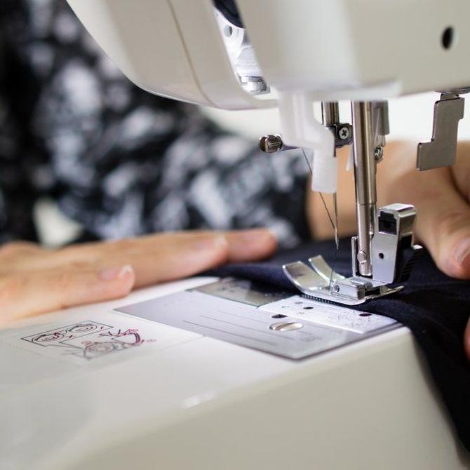 ¿Qué es la canilla de la máquina de coser?