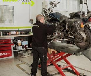 Reparaciones de emergencia para motos