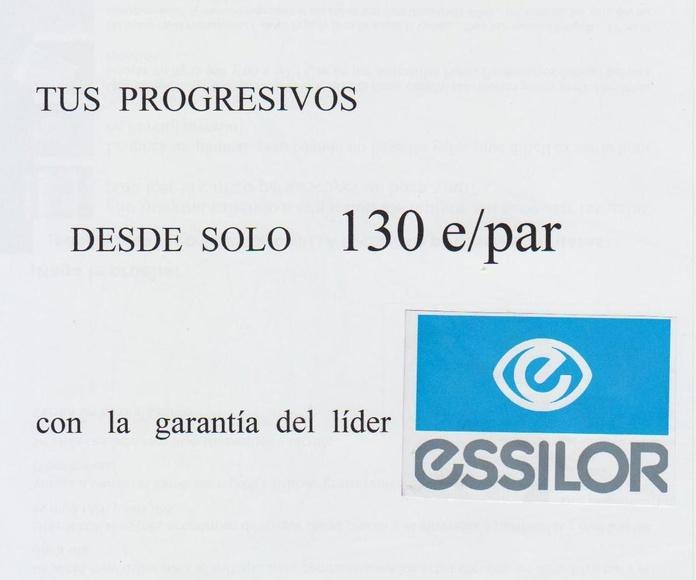 Cristales: Catálogo de Central Óptica de Lugo