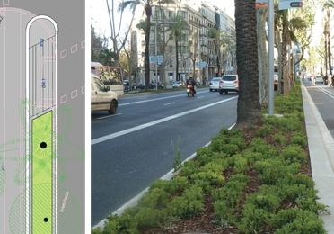 P. M. de la reforma de la Av. Diagonal de Barcelona