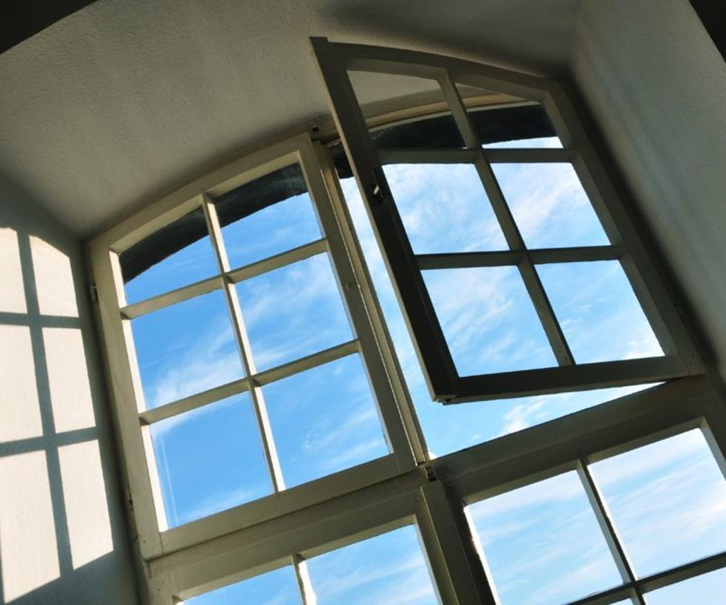 La apertura de las ventanas