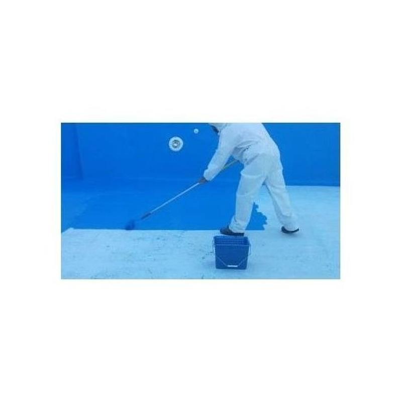 Pintura clorocaucho piscina