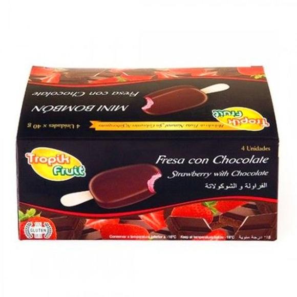 MINI FRESA CON CHOCOLATE: PRODUCTOS de La Cabaña 5 continentes