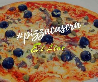 Entrantes: Carta de El Lloc Restaurante - Pizzería