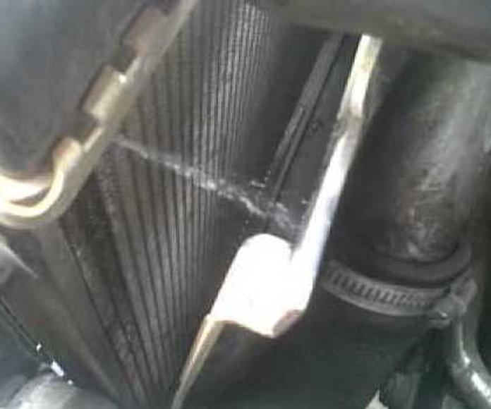 Reparación de radiadores de coches