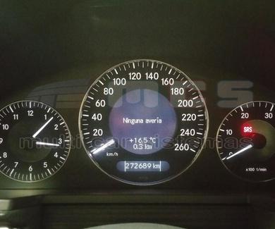 Comprobar fecha de control emisiones inspección principal Mercedes