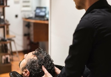 Corte de pelo con lavado y masaje