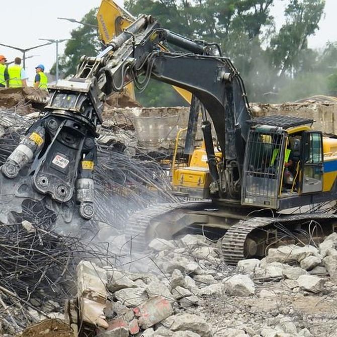 La seguridad en los derribos y excavaciones
